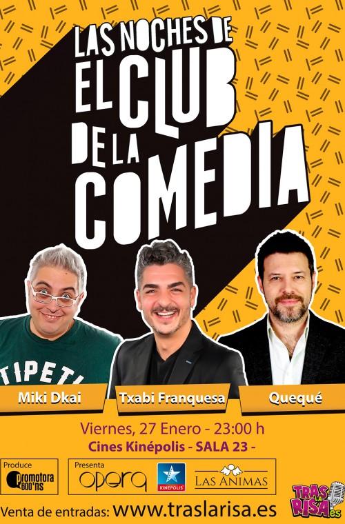 El club de la comedia valencia for Sala 25 kinepolis