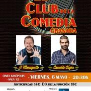 Cartel El club de la comedia, en Granada