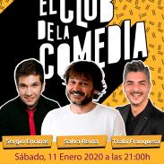 Cartel LAS NOCHES DE EL CLUB DE LA COMEDIA, en Valladolid 11 enero 2020