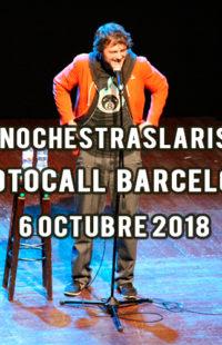 Photocall #NochesTrasLaRisa Barcelona 06.10.18