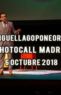 Photocall Miguel Lago Pone Orden Madrid 06.10.18