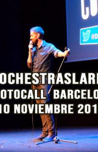Photocall #NochesTrasLaRisa Barcelona 03.11.18