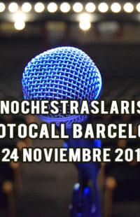 Photocall #NochesTrasLaRisa Barcelona 24.11.18