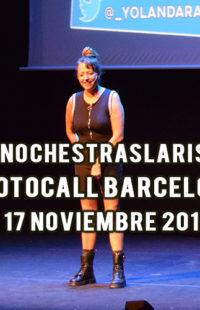 Photocall #NochesTrasLaRisa Barcelona 17.11.18