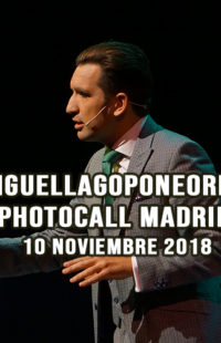 Photocall Miguel Lago Pone Orden 10.11.18
