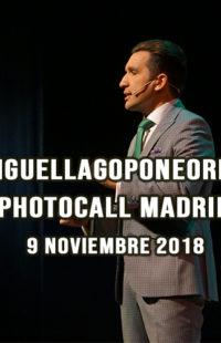 Photocall Miguel Lago Pone Orden 09.11.18