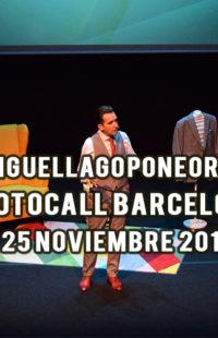 Photocall Miguel Lago Pone Orden 25.11.18
