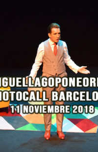 Photocall Miguel Lago Pone Orden 11.11.18