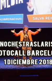 Photocall #NochesTrasLaRisa Barcelona 1.12.18