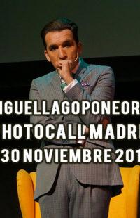 Photocall Miguel Lago Pone Orden 30.11.18