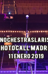 Photocall #NochesTrasLaRisa Madrid 11.01.19