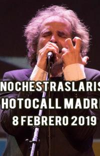 Photocall #NochesTrasLaRisa Madrid 08.02.19