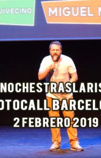 Photocall #NochesTrasLaRisa Barcelona 02.02.19