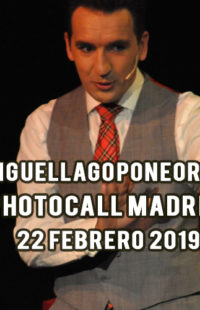 Photocall Miguel Lago Pone Orden Madrid 22.02.19