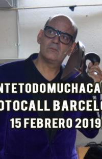 Photocall Ante Todo Mucha Calma 15.02.2019