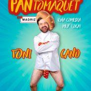 Cartel PANTOMAQUET de Toni Cano, en Barcelona