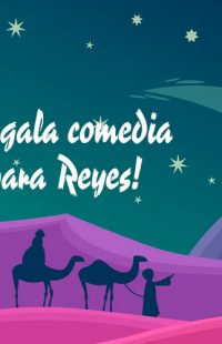 ¡Regala comedia para Reyes!